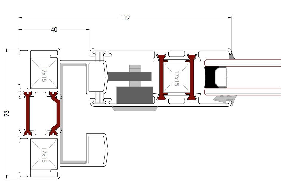 Sección CT70