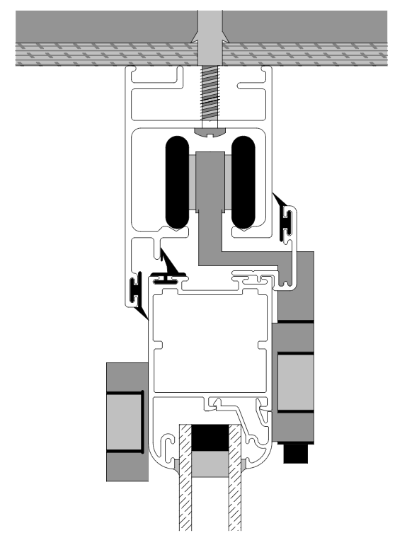 Sistema de practicable INTERWIND PR45 RPT