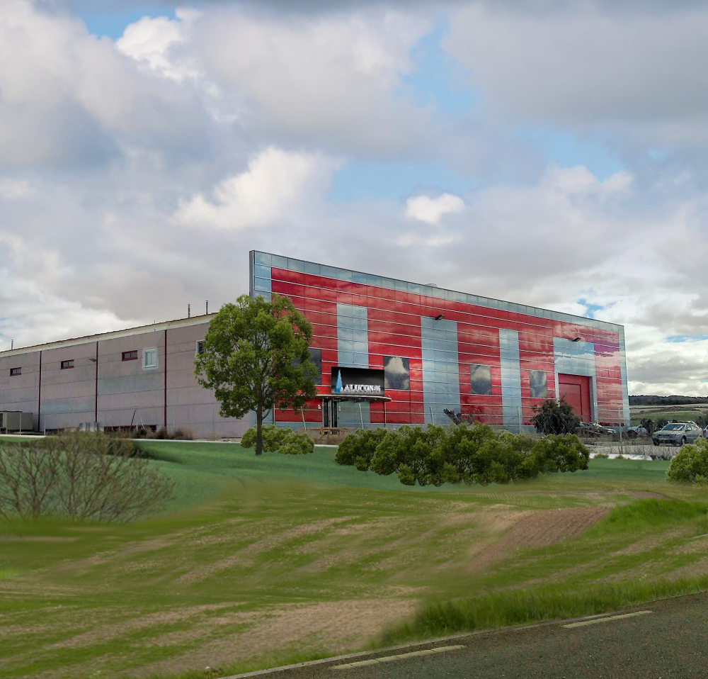 alucon96 centro de producción carpintería en Aluminio